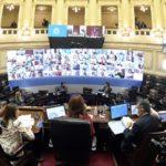 Sesión virtual del Senado sin inconvenientes: aprueban 20 DNU