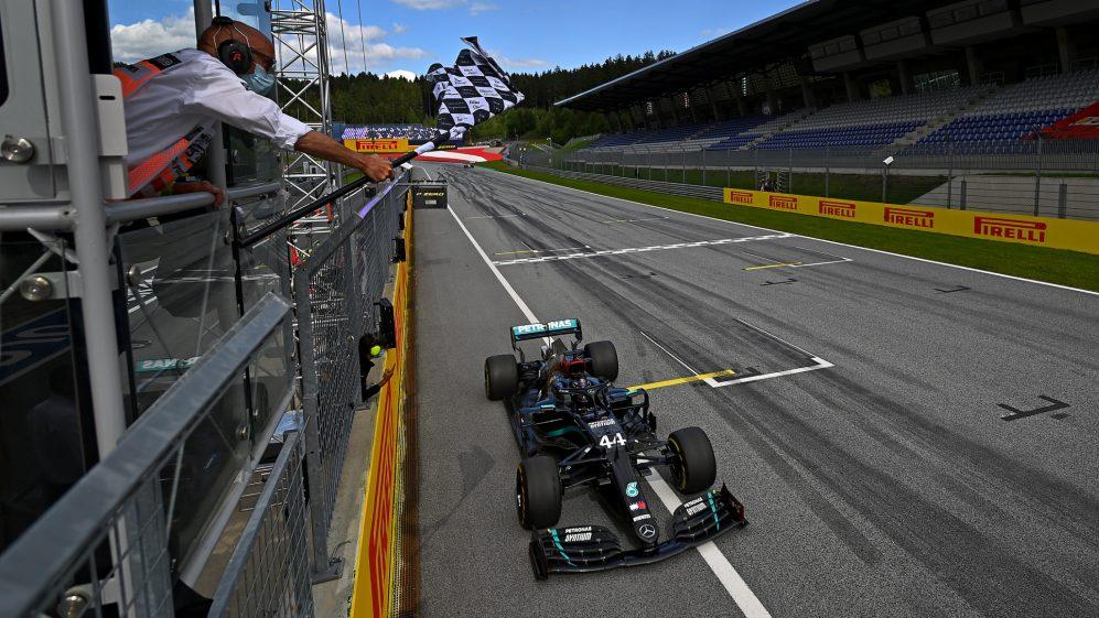 F1: Doblete de Mercedes en el GP de Estria