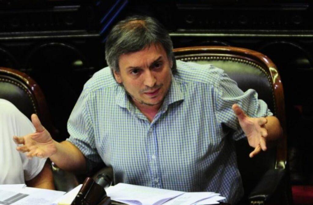 Máximo Kirchner debe $5 millones en impuestos y quiere que la Justicia se los pague - El Federal Noticias