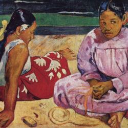 Mujeres de Tahití, de Paul Gauguin