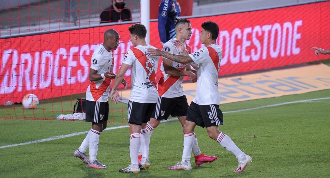 River recibe a Nacional de Uruguay por el partido de ida de cuartos de final