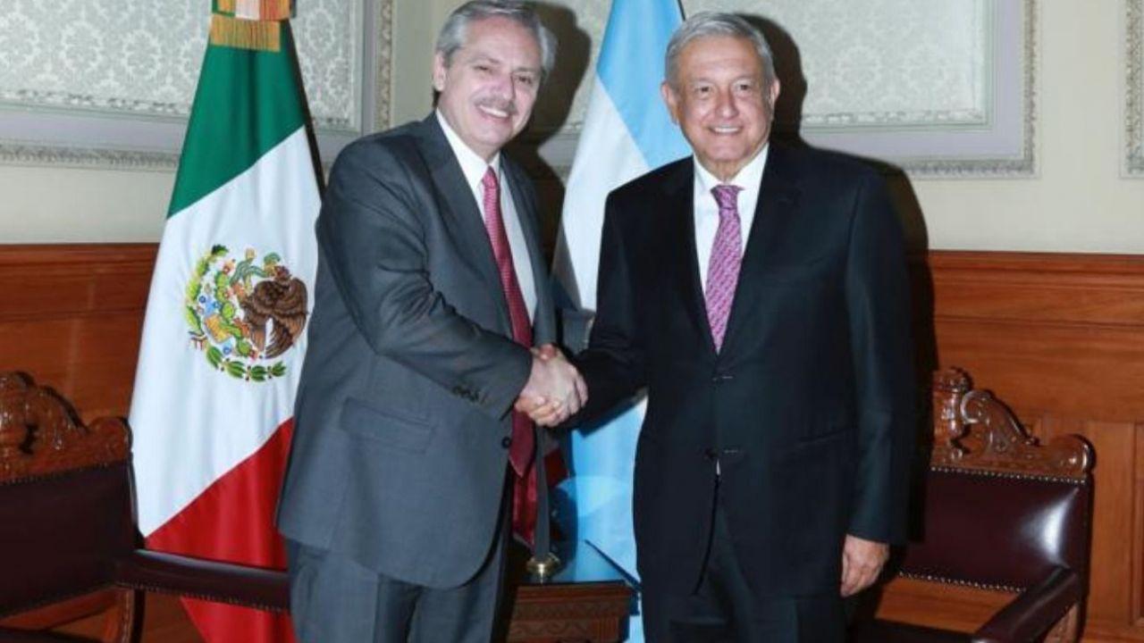 López Obrador recibió a Fernández en México pero se desligó del escándalo por las vacunas