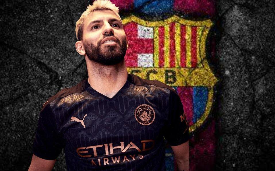 """España: aseguran que el """"Kun"""" Agüero ya arregló su contrato con el Barcelona"""