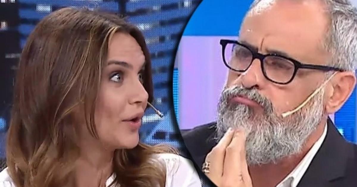 Amalia Granata le tiró con munición gruesa a Jorge Rial