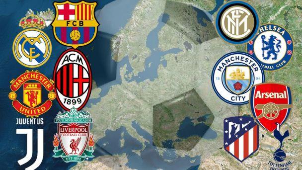 Fútbol: Se creó la Superliga de Europa y generó mucha polémica