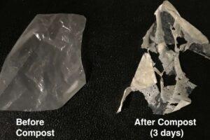 Científicos desarrollan plástico biodegradable que se descompone fácilmente con solo calor y agua