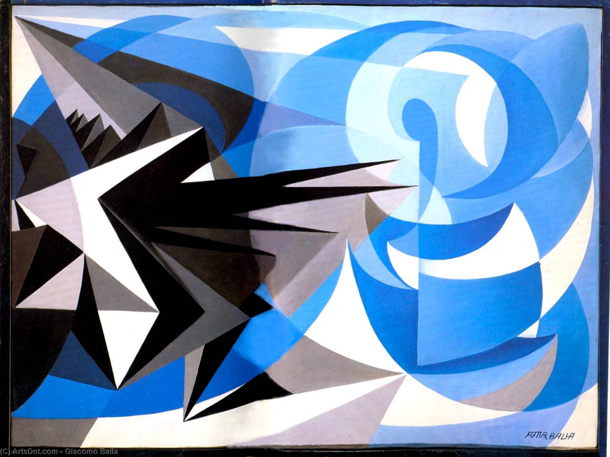 Pesimismo y optimismo, de Giacomo Balla
