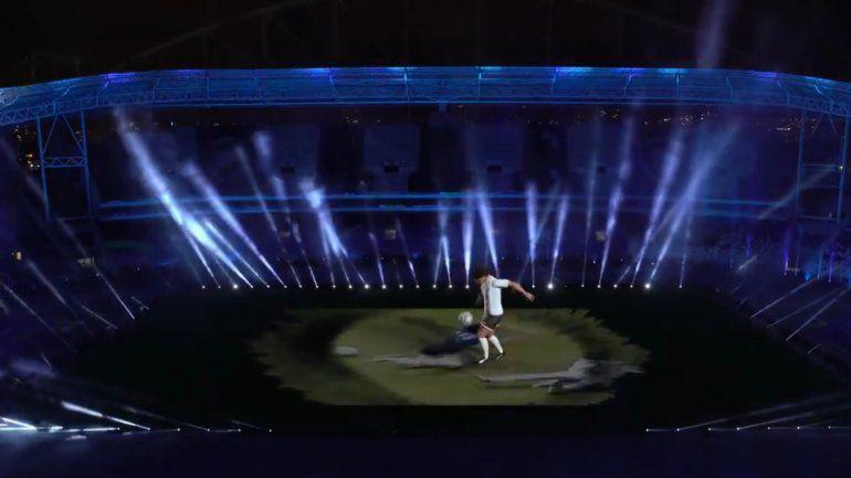Emotivo homenaje para Maradona en la previa de Argentina vs. Chile