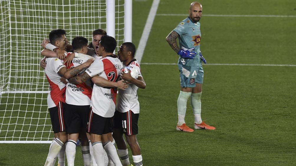 LPF: River derrotó a Arsenal en un partido clave por la cima