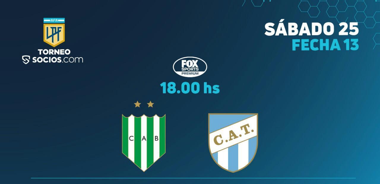 EN VIVO: Banfield y Atlético Tucumán juegan por más que 3 puntos, en el Florencio Sola